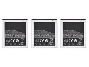 New Replacement Battery For Samsung Infuse 4G Phone ( 3 Pack )