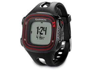 Garmin Forerunner 10 GPS Enabled Sports Watch Black & Red 010-01039-00