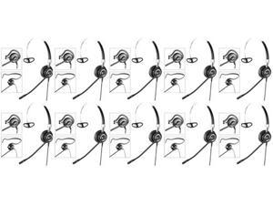 Jabra 2406-820-105 / 2406820105 BIZ 2400 Mono NC 3-in-1 Over the Head Noise-Canceling Headset (10 Pack)