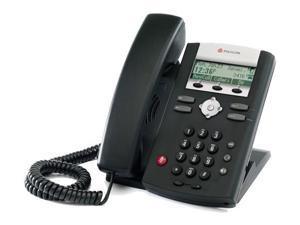 Polycom 2200-12360-001 SoundPoint IP 321 2-Line IP Phone w/ AC