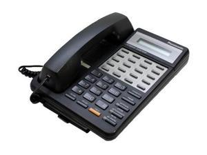 Panasonic KX-T7030B-R Hybrid System Corded Speakerphone W/ 1-Line Backlit LCD Display And 4 One Touch Dial Keys