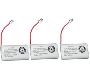 Battery for Uniden BT1007 (3-Pack) Replacement Battery