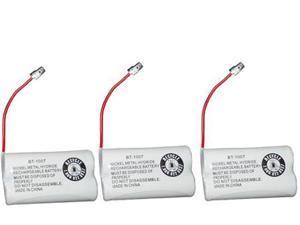 Battery for Uniden BT1007 (3-Pack) BT1007 /  BT-1015 / GEJ-TL26602 Replacement Battery