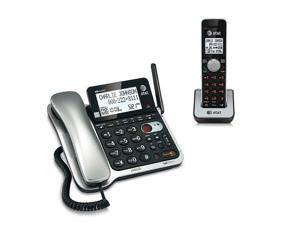 AT&T CL84102 2 Handset Corded / Cordless Phone