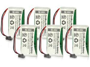 Battery for Uniden BT-1008 (6-Pack) Replacement Battery for Dect 6 0 2000 Series and DCX200
