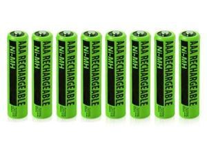 New Replacement Battery For Panasonic NiMH AAA Cordless Phones 8 Pack