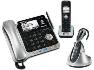 AT&T TL86109 & TL7610 2 Handset Corded / Cordless Phone DECT 6.0 Technology