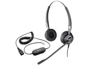 Jabra BIZ 2415 Duo With GN8000 Amp  Duo Omni Noice Canceling Headset