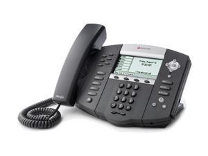 Polycom 2200-12651-001 SoundPoint IP 650 6-Line IP Phone w/ AC