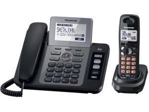 Panasonic KX-TG9471B 2 Line DECT 6.0 Expandable Digital Cordless Phone