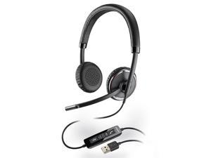 Plantronics 88661-01 Blackwire C520 Stereo Corded Headset with Dual Earpiece