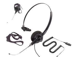 Plantronics Polaris DuoSet P141-U10P 45227-01 Convertible Mono Corded Headset