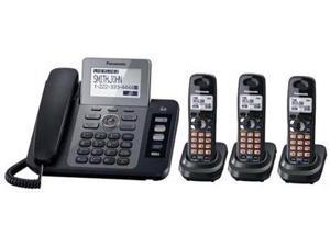 Panasonic KX-TG9473B KX-TG9473B 2-Lines Phone with Digital Answering System