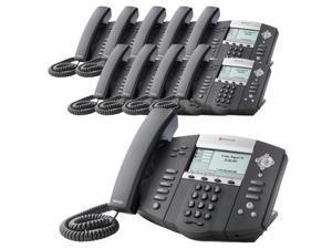 Polycom 2200-12550-025 (10-Pack) SoundPoint IP 550 4-Line IP Phone (POE)