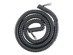 25 Foot Black Coil Cord  25 Foot Coil Cord