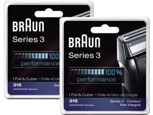 Braun 31S (2 Pack) Replacement Foil & Cutter