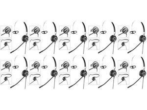 Jabra BIZ 2400 3in1 NC (10-Pack) Noise Canceling Headset 3-in-1 Wearing Styles