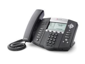 Polycom 2200-12550-001 SoundPoint IP 550 4-Line IP Phone w/ AC