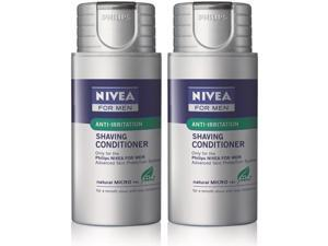 Norelco HS800-2 Pack Nivea For Men Shaving Conditioner