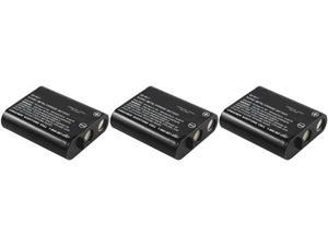 New Replacement Battery For Panasonic  For P-P511 Phone Models KX-FPG371 / KX-TG2236S ( 3 Pack )