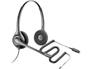 Plantronics SupraPlus PW261N Stereo Corded Headset With A10 Adapter