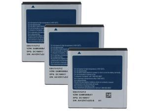 Battery for Samsung EB575152YZ (3-Pack) Replacement Battery