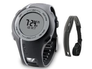 Garmin Forerunner 110 Watch Black with Heart Rate Monitor Forerunner 110 Unisex Black