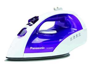 Panasonic NI-E650TR Corded Steam Iron W/ Non-Stick Coating Soleplate And Automatic Retractable Reel