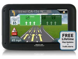 "Magellan RM5255SGBUC RoadMate 5255T-LM Camera Bundle 5"" Automotive GPS & Backup New"