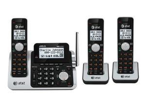AT&T CL83301 / CL83351 DECT 6.0 Phone w/ Digital Answering System and 2 Additional Handset