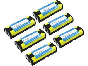 New Replacement Battery For Panasonic HHR-P105 / GE-TL26420 Cordless Phones 6 Pack
