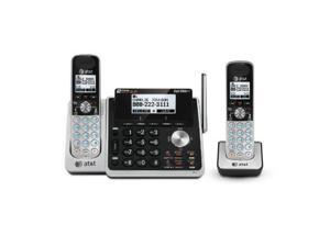 AT&T TL88102 + (1) TL88002 Handset  2 Line Digital Expandable Cordless Phone