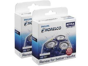 Norelco HQ167 (2-Pack) 2 Replacement Heads