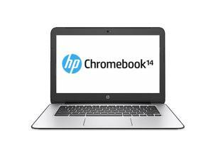 "HP 14 G4 (T4M33UT#ABA) Chromebook Intel Celeron N2840 (2.16 GHz) 4 GB Memory 32 GB eMMC SSD 14.0"" Chrome OS"