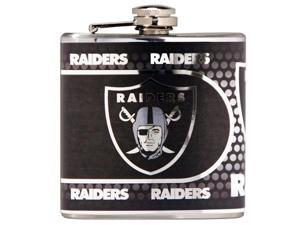 Great American Products Oakland Raiders Flask Stainless Steel 6 oz. Flask