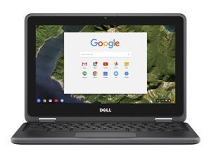 "DELL 3180 (83C80) Chromebook Intel Celeron N3060 (1.60 GHz) 4 GB Memory 16 GB eMMC 11.6"" Chrome OS"