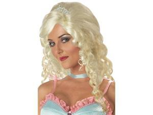 Womens Adult Fairytale Blonde Cinderella Costume Wig Skip Image Gallery