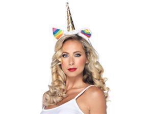Womens Rainbow Unicorn Headband