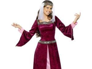Medieval Maid Marion Juliet Dress Halloween Costume