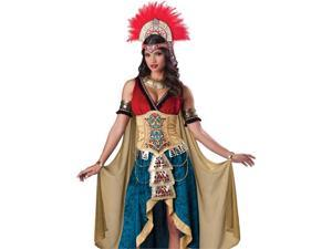 Mayan Queen Adult Aztec South American Halloween Costume XL