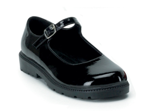 Kids Alice Costume Black Patent Mary Jane Shoe