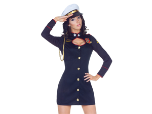 Sexy Womens Marine Major Officer Halloween Costume