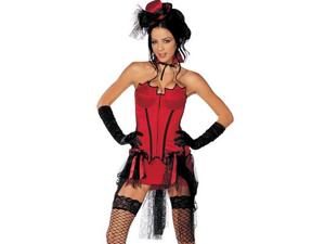 Sexy Womens Victorian Burlesque Vampire Halloween Costume