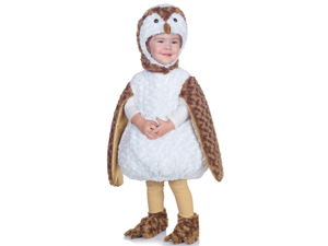 Toddler Boys Girls White Barn Owl Halloween Costume