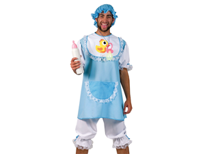 Funny Adult Baby Outfit Mens Halloween Party Costume