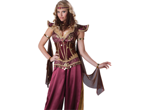 Sexy Arabian Genie Persian Princess Halloween Costume