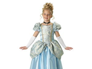Kids Cinderella Deluxe Princess Halloween Costume