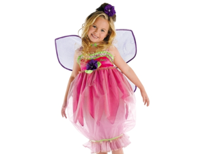 New Kids Girls Costume Barbie Thumbelina Fairy Outfit