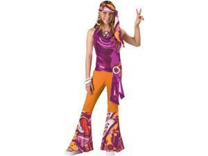 Kids Teen Tween Girls 60s 70s Disco Mod Dance Costume