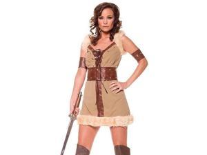 Sexy Barbarian Viking Warrior Lady Halloween Costume